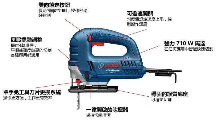 Bosch/ /GST 8000/E Professional Stichs/äge