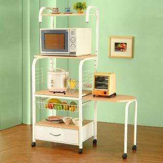 【C&B】知多家-六層電器置物架(附側桌)
