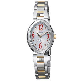 【Citizen】xC光動能TM電波時計腕錶(ES5050-57Y)