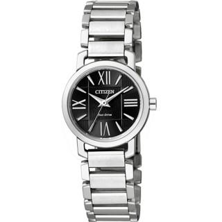 CITIZEN 時尚運動風潮計時腕錶/IP黑(AN4019-52E)