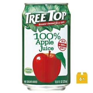 【Tree Top】100%樹頂蘋果汁320ml*6