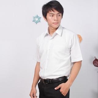 【JIA HUEI】短袖男仕吸濕排汗襯衫 3158系列 灰色細條紋(台灣製造)