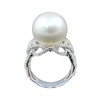 【蕾帝兒珠寶】-憧憬白色貝珠戒