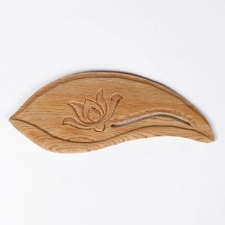 【荒木雕塑藝品】檜木蓮片木書籤