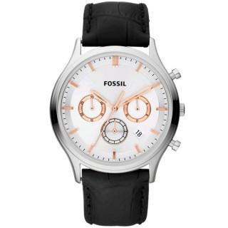 【FOSSIL 】都會紳士三眼魅力腕錶