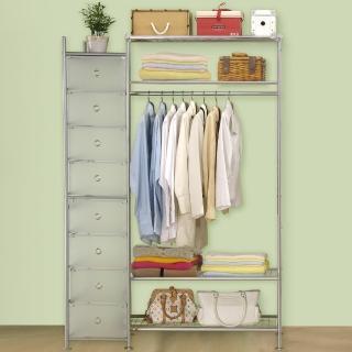 【巴塞隆納】WP4+D型90公分衣櫥架(無防塵)