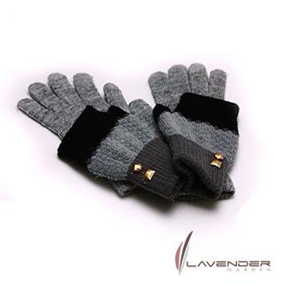 【Lavender】1+1 3用手套-經典系列(灰色)