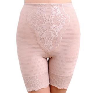 【MICCH】台灣製420丹完美曲線機能翹屁束褲_粉膚色