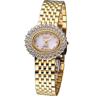 【Ogival】高雅薔薇 時尚腕錶(380-03DLK)