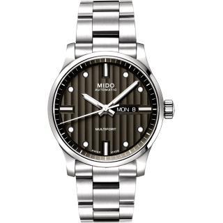 【MIDO Multifort】系列經典鋼帶腕錶-黑(M0054301106180)