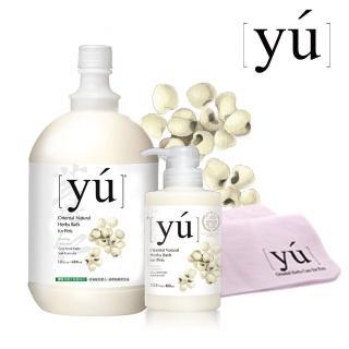 【YU 東方森草】薏仁柔潤寵物沐浴乳(專業用桶)