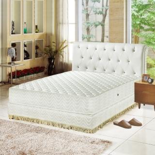 【睡芝寶-飯店用-透氣3M防潑水-護邊強化獨立筒床墊-單人】