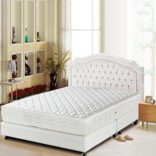 【睡芝寶-頂級-3M防潑水+護邊強化+蜂巢式獨立筒床墊-雙人】