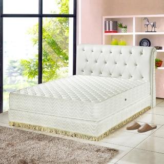 【睡芝寶-飯店用-透氣3M防潑水蜂巢式獨立筒床墊-加大】
