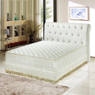 【睡芝寶-正三線-3M防潑水蜂巢式-獨立筒床墊厚24cm-加大】