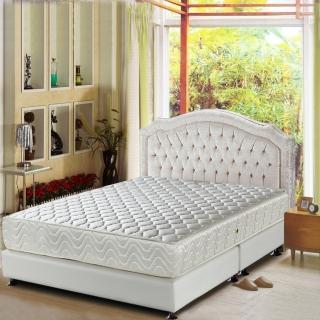 【睡芝寶-頂級天然乳膠+3M防潑水-蜂巢式獨立筒床墊-加大】