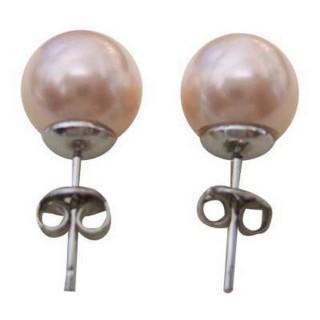 小樂珠寶-滿力滿點-3A南洋深海貝珍珠耳環