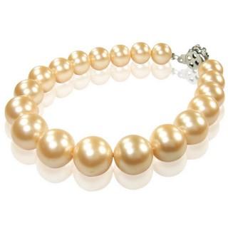 小樂珠寶-時髦搭配-3A南洋深海貝珍珠手鍊