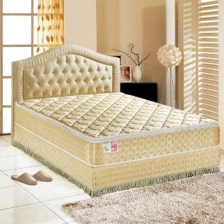 【睡芝寶-正三線-矽膠-蜂巢式獨立筒床墊厚24cm-VIP限定-單人】