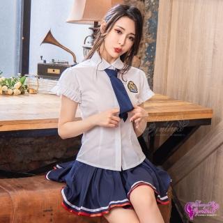 【Anna Mu】學園甜心!青春無敵三件式學生服