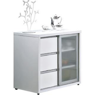 【顛覆設計】晶晶2.7尺餐櫃(兩色可選)