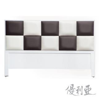 【優利亞-黑白方程式】雙人5尺床頭片