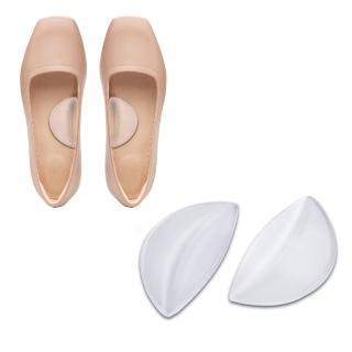 【足的美形】透明矽膠腳窩蝴蝶墊(4雙入)