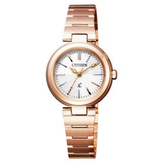 【CITIZEN】xC 優美風情時尚腕錶-紅/銀(FE2020-66W)