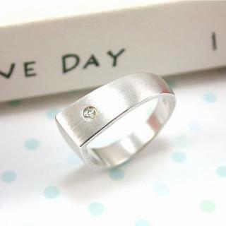 【伊飾童話】極簡時尚*尖面純銀戒指