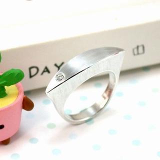 【伊飾童話】極簡心境*弧面純銀戒指