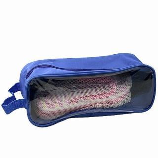 【iSFu馬桶架 momon】旅行專用鞋用透視收納袋