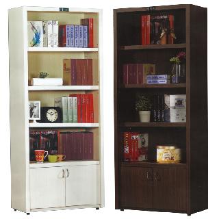 【優利亞-好學生】2.5尺開放型書櫃(2色可選)