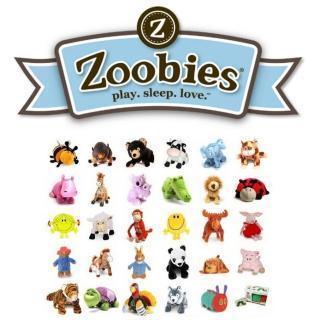 【Zoobies】毛毯寵物玩偶(多種樣式可選)