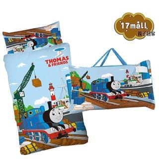 【歡樂湯瑪士-港口篇】幼教兒童睡袋(4*5尺-藍)