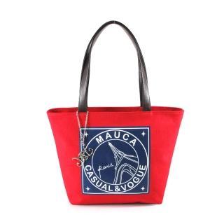 【Mauca】Paris巴黎風情帆布托特包-小(3色)