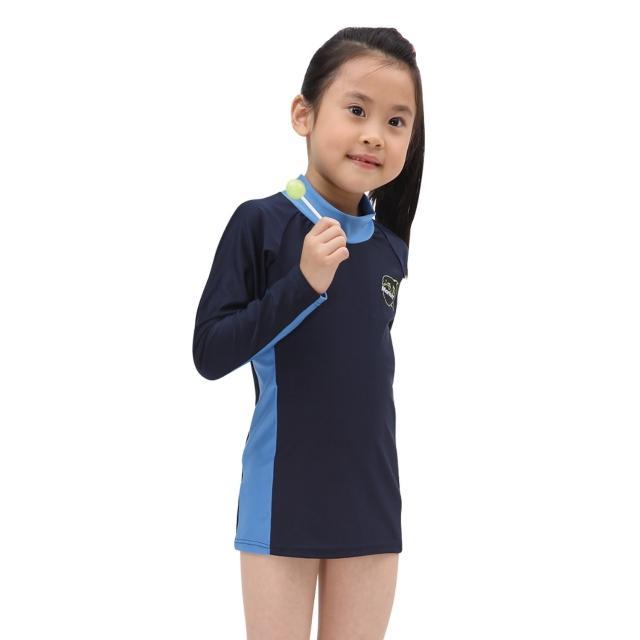 【網購】MOMO購物網【≡MARIUM≡】兒童半身水母衣-長袖(MAR-2807)開箱momo購物網站