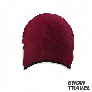 【開箱心得分享】MOMO購物網【SNOW TRAVEL】 WINDBLOC防風保暖遮耳帽(酒紅色)心得momo旅遊網