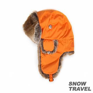 【勸敗】MOMO購物網【SNOW TRAVEL】極地保暖遮耳帽(橘色)去哪買富邦購物台