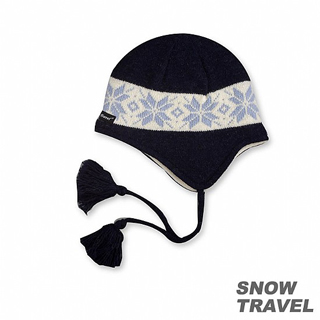 【私心大推】MOMO購物網【SNOW TRAVEL】 3M防風透氣保暖羊毛遮耳帽(藍色)推薦富邦momo旅遊網
