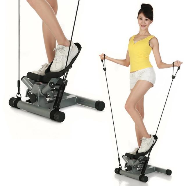 【好物分享】MOMO購物網【KADIER】★第二代激瘦拉繩式超高效★扭擺踏步機開箱momo旅遊購物