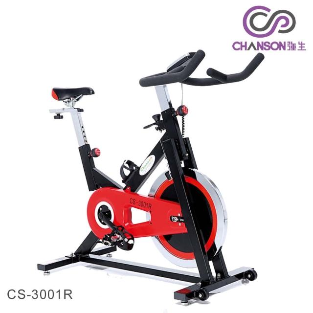 【私心大推】MOMO購物網【強生CHANSON】飛輪有氧健身車(CS-3001R)評價如何momo網購