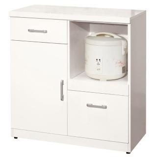 【顛覆設計】奈兒2.7尺單門碗碟櫃