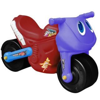 【寶貝樂】小爵士摩托車造型學步助步車(紅)