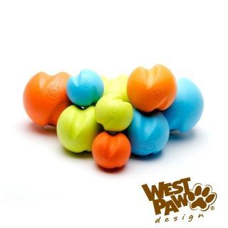 【West Paw】Jive耐咬玩具球-2.6吋(4色)