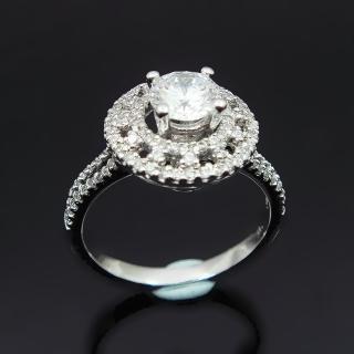 【Celosa名品-】奢華晶鑽戒指