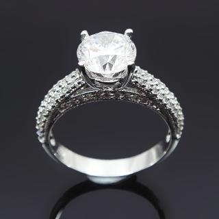 【Celosa名品-】秀麗晶鑽戒指