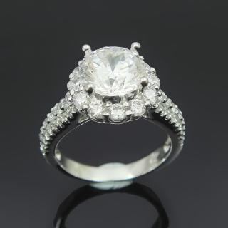 【Celosa名品-】永恆的愛晶鑽戒指