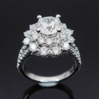 【Celosa名品-】璀麗晶鑽戒指