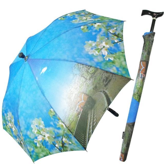 【好物分享】MOMO購物網阿里山櫻花/小火車風情可調式自動傘/登山傘有效嗎富邦momo客服