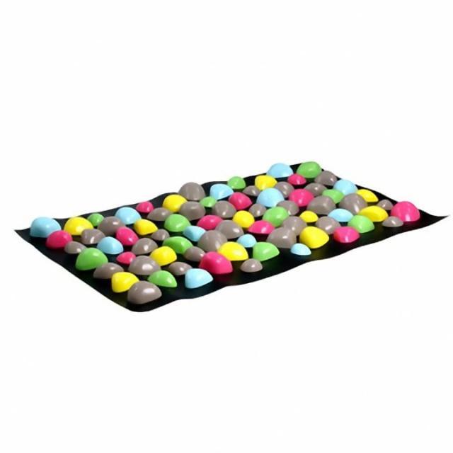 【網購】MOMO購物網Health Mat 卵石按摩健康步道踏墊(2入優惠)評價如何富邦mo mo